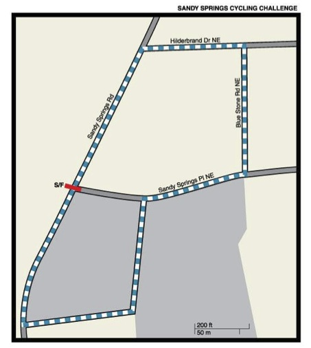 Sandy Springs Map