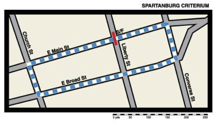 Spartanburg Map
