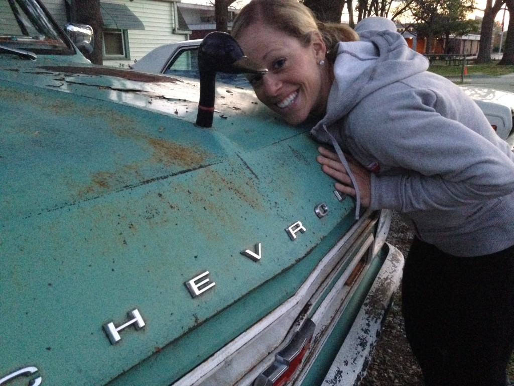 Mary with Chevy Duck