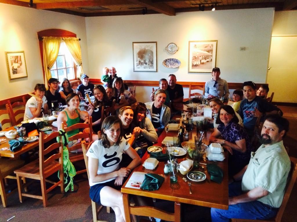 Colavita Dinner at Olive Garden