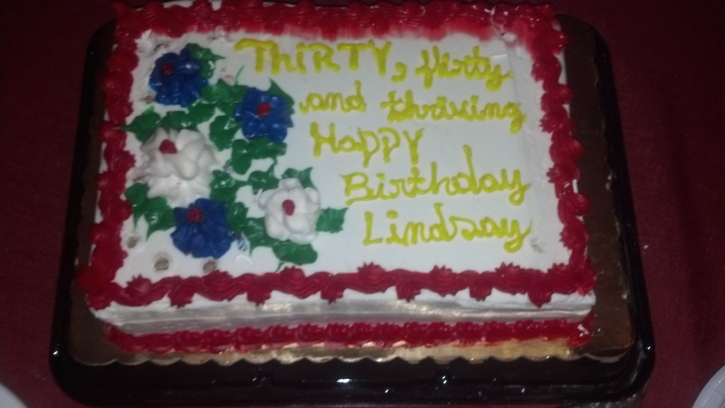 2014 Birthday Cake