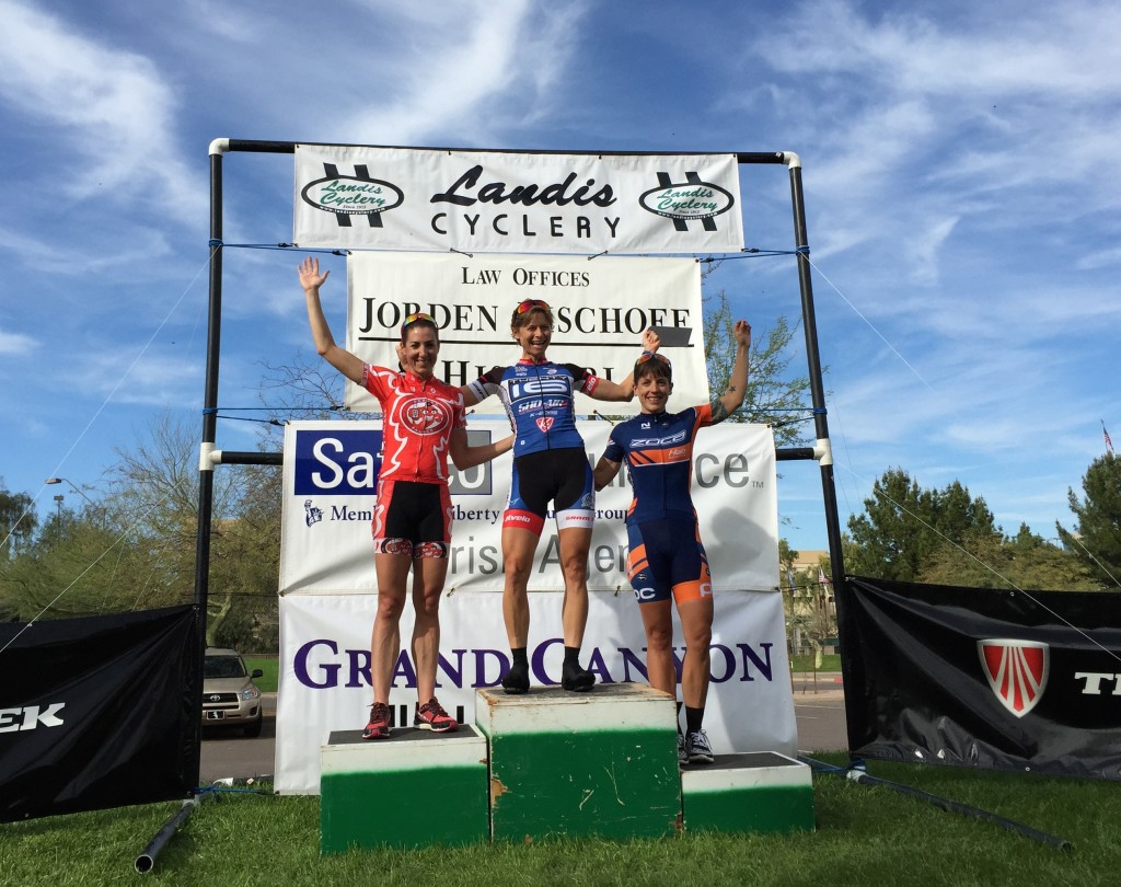 2015 VOS Stage 3 Podium
