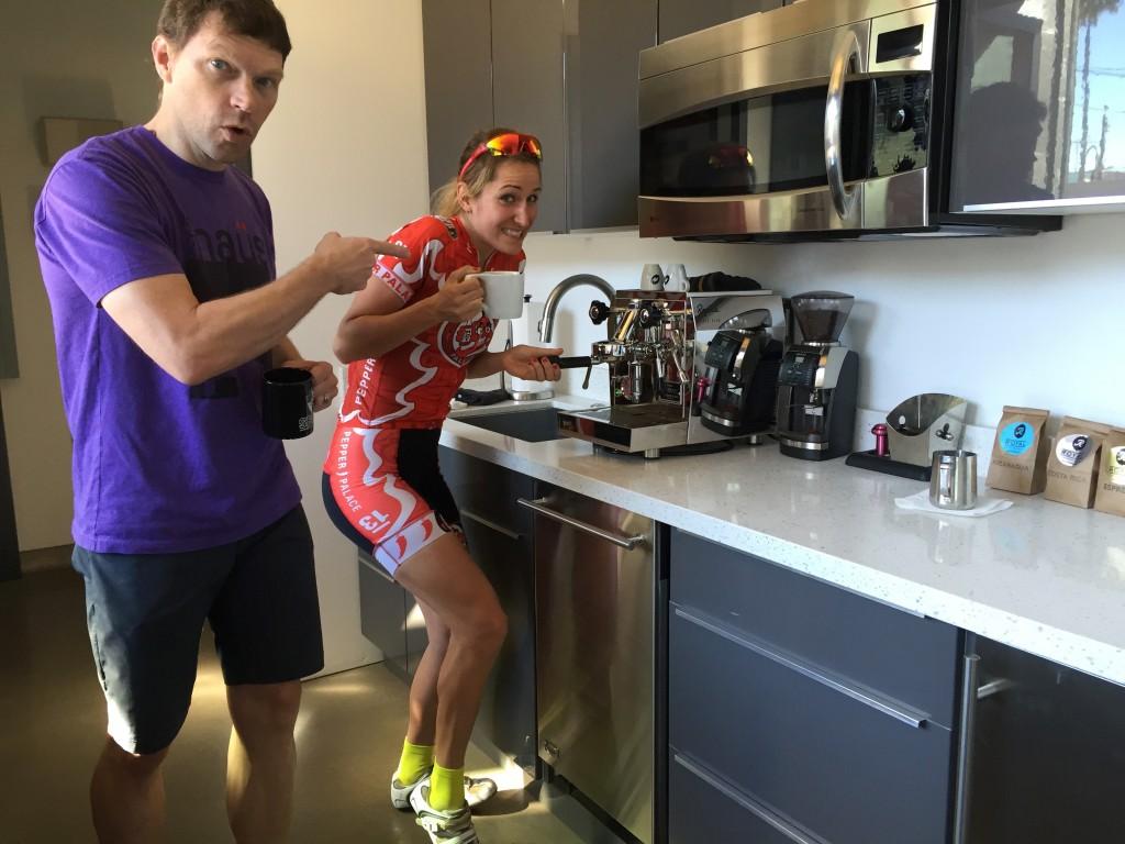 2015 Zanna and John at Bicycle Haus