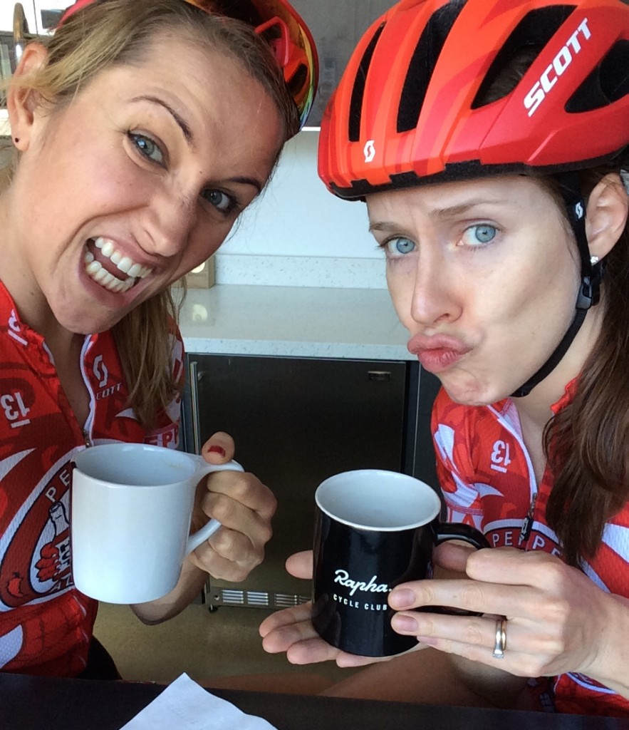 2015 Zanna and Lindsay at Bicycle Haus