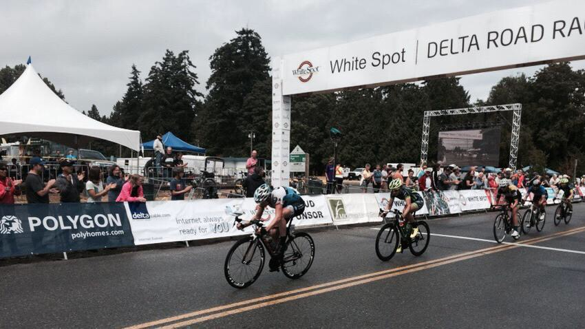2015 Delta White Spot Road Race Lindsay Bayer